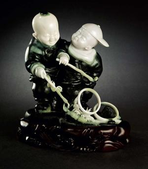 中国玉雕石雕作品天工奖九年回顾展作品欣赏